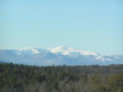 Snow-covered Mount Washington