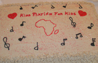 Kids Playing for Kids Cake