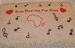 Kids Playing for Kids Cake