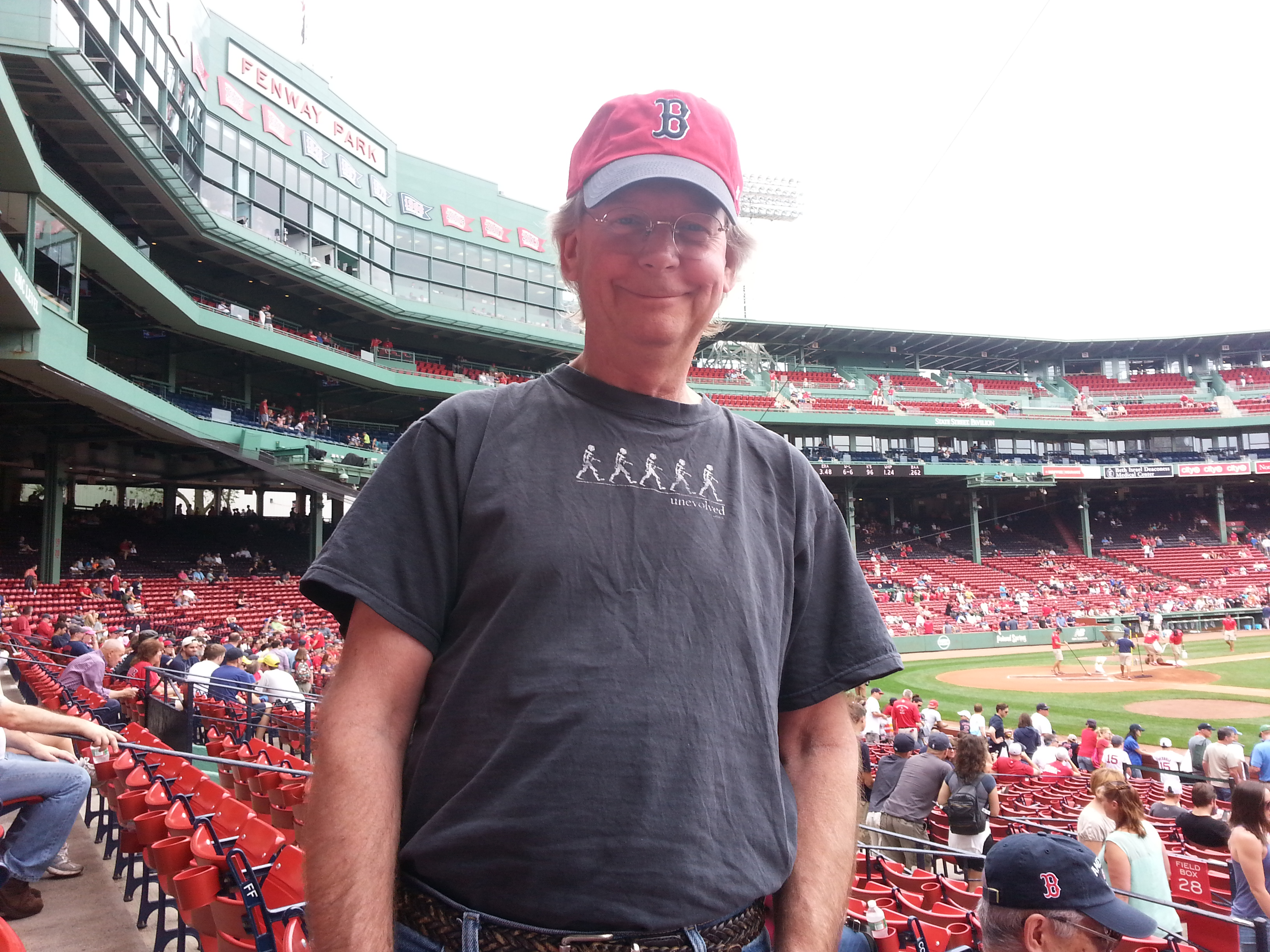Alan at Fenway 7/4/15