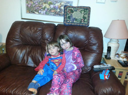 Emmet, age 3 and Madison, age 7.