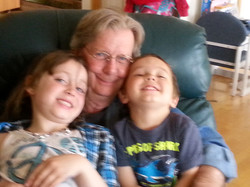 Maddy, Grampa and Emmet