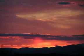 Nebula Sunset