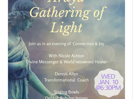 Join us for an evening of Connection And Joy
