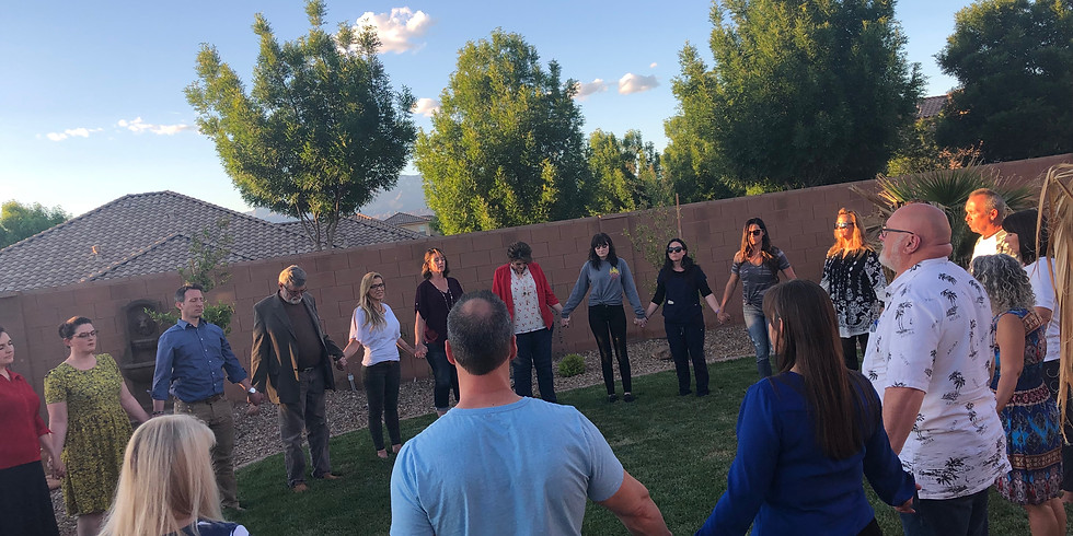 Friends Gathering and Energy Circle