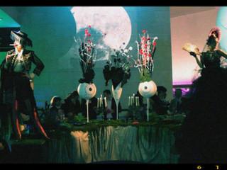Show for the Tim Burton exhibit at cinématheque de Paris, 2011