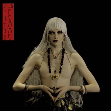 Sphynx, la femme album cover, styling