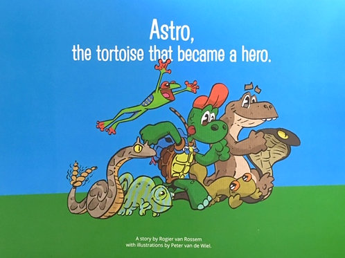Astro, The Tortoise That Became A Hero.