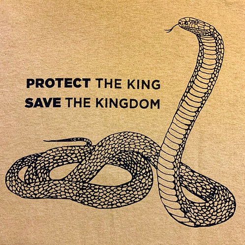 """Protect and Save"" KCC T-shirt"