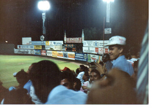 Quisqueya Estadio with Jimmy
