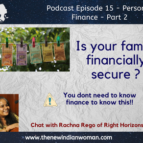 How to know if your family is financially secure without knowing finance?