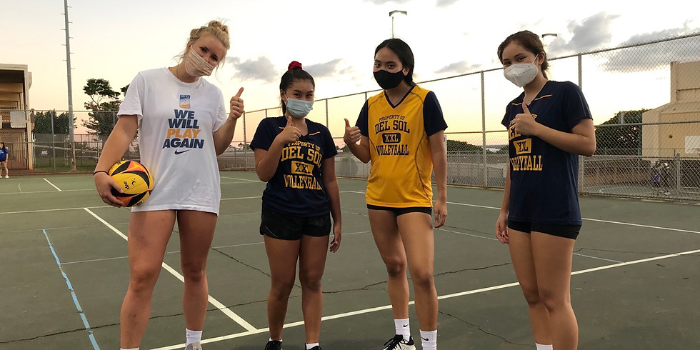 Del Sol Volleyball Club Outdoor Workout