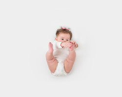 3 month baby session