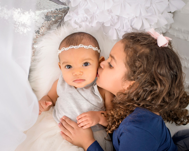 Emory and Peyton | Baby and child session