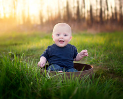 Fall baby session
