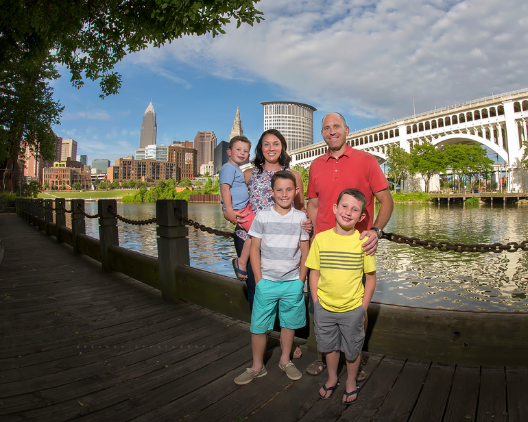 Cheon Family | Cleveland Ohio