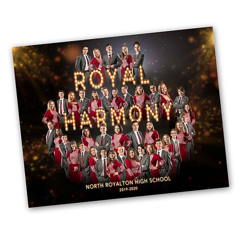 Custom Royal Harmony Group Photo