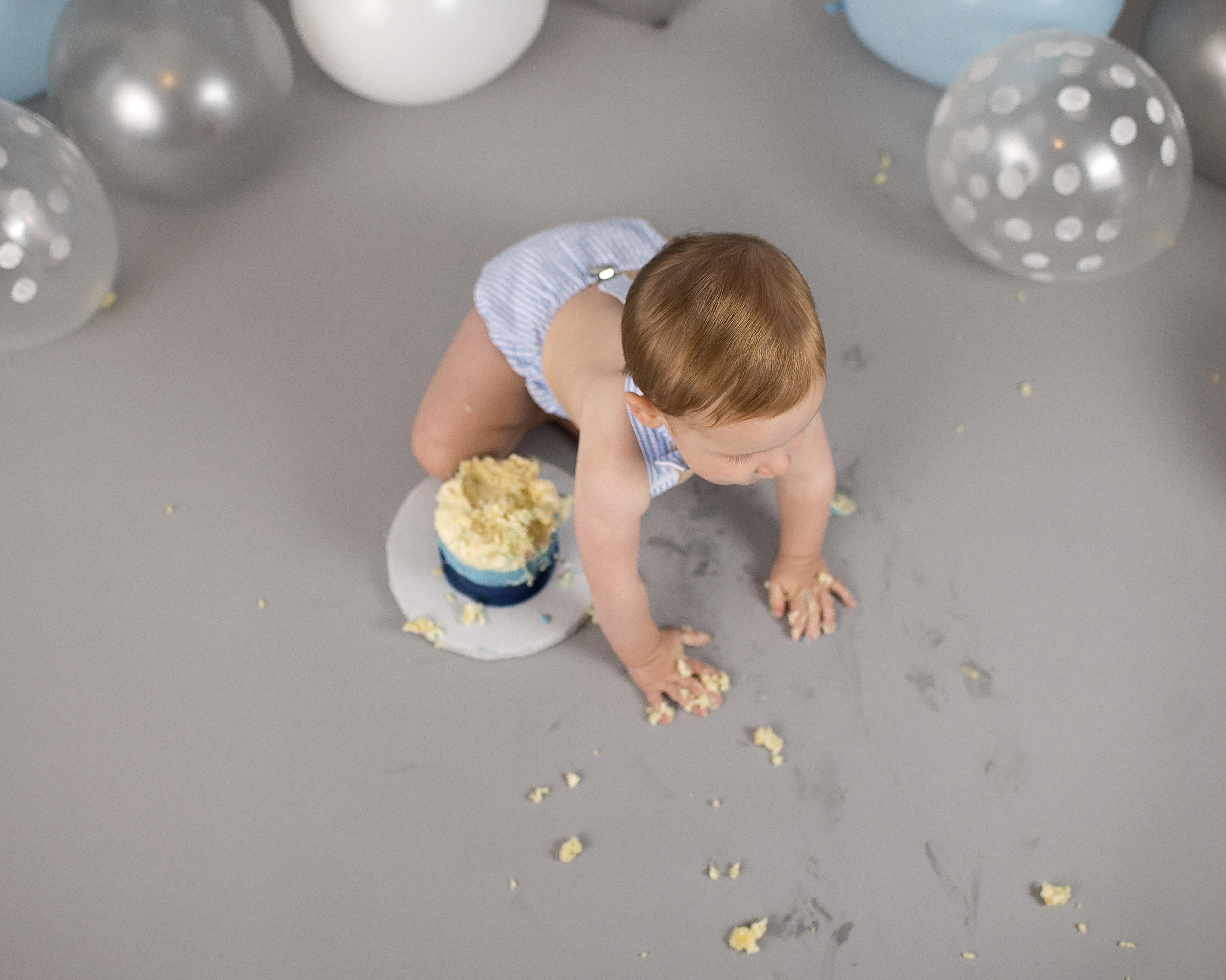 Ohio cake smash photographer