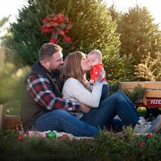 Ohio christmas family photo