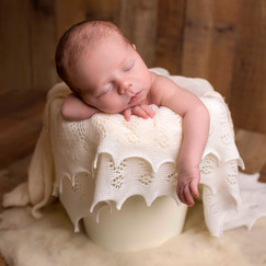 Newborn boy photo session