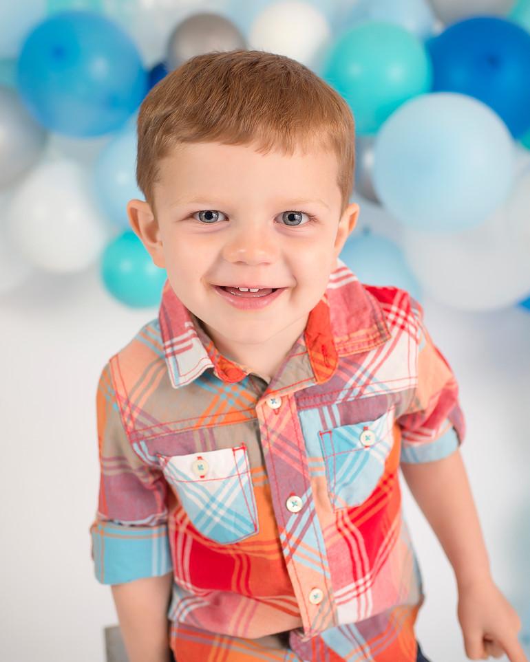 Lincoln is 3! | Medina, Ohio Children Photographer