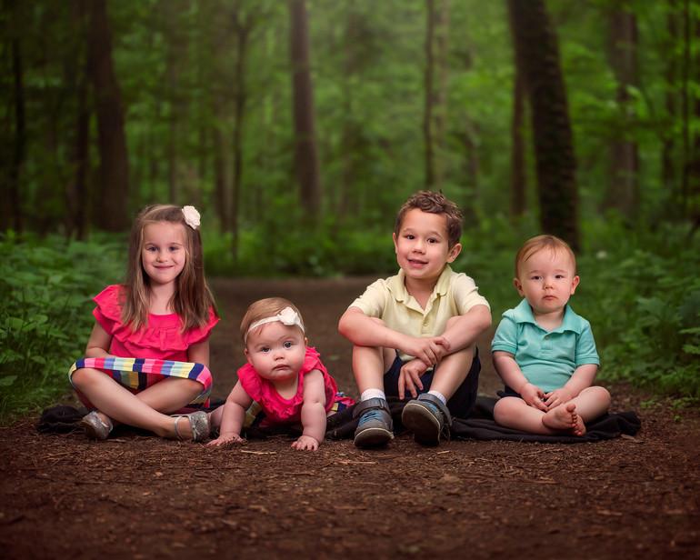 Cousins Family Session | Medina, Ohio Kids Session