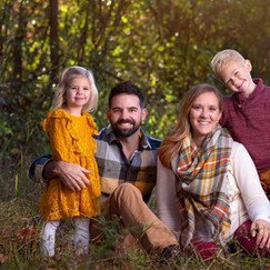 Fall family photo session