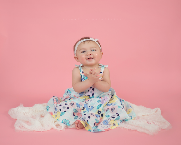 Ari | 6 month baby session