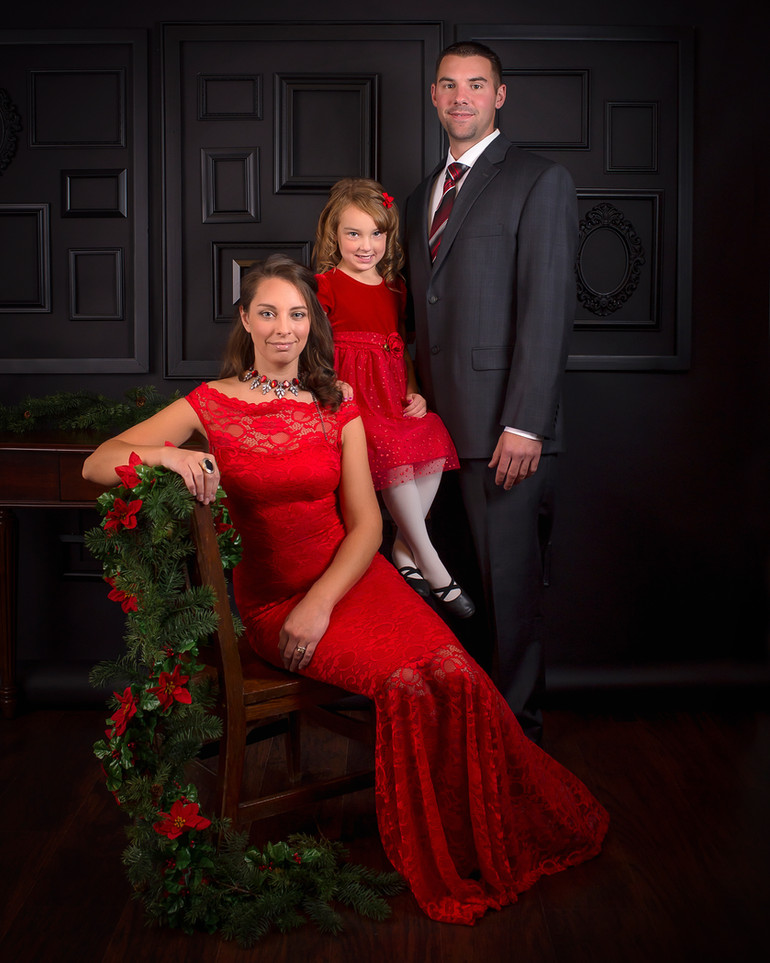Christmas Formal Mini Sessions | Medina, Ohio