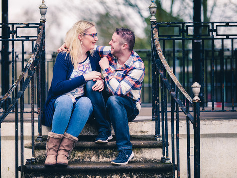 What's up with the weather?! | Engagement Shoot | Pontypool Park & Blaenavon Ironworks