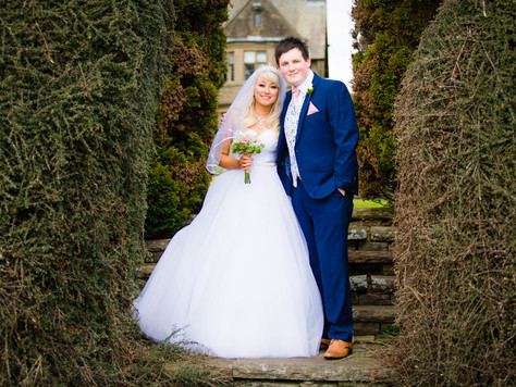 Jenna & Tom | Spring Wedding | Maes Manor, Blackwood