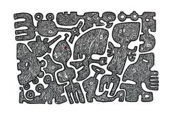 Série_les_signes,_sans_titre_5,_acrylique_sur_papier,_60x80cm,_Ricardo_OZL,_2018_,©G.GERMAIN_