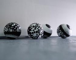 Acrylique sur polystyrène10-2014