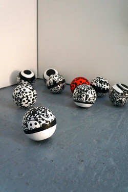 Acrylique sur polystyrène 1 -2014