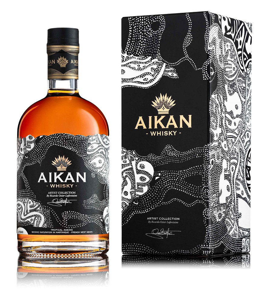 AIKAN RICARDO ARTIST COLLECTION PACKSHOT