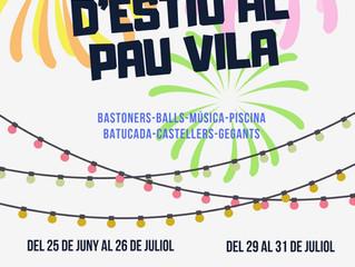 Aquest estiu, cada dia és Festa Major al... Casal d'estiu al Pau Vila!!!