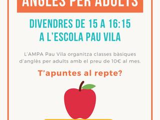 Anglès per adults al Pau Vila
