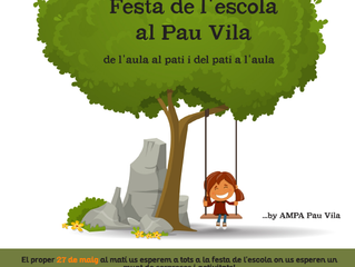 Festa el 27 de maig al Pau Vila