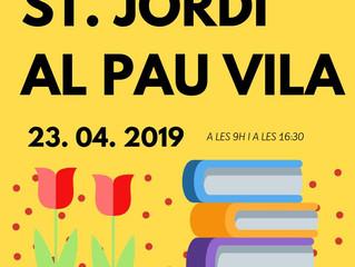 Parada de Sant Jordi al Pau Vila