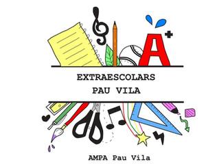 Extraescolars Curs 2018-2019