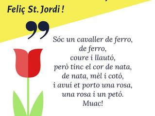 Feliç Sant Jordi!!!