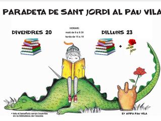 Paradeta de Sant Jordi al Pau Vila