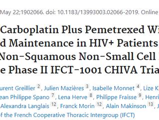 Publication des résultats de l'essai clinique IFCT-1001 CHIVA