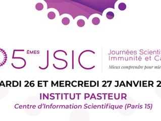 5ème JSIC - 26 & 27 janvier 2021