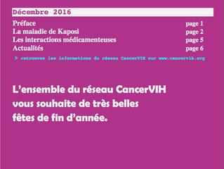 4ème bulletin de CancerVIH en ligne !