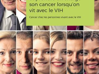 Publication du livret d'information Cancer et VIH