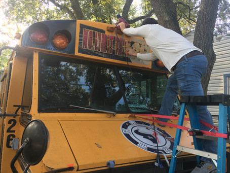 Houston Texans Tailgaters Bus