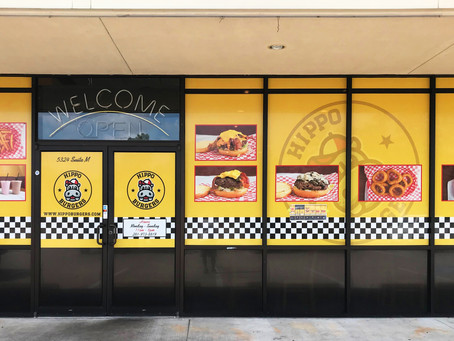 Hippo Burger - Store Front Wrap