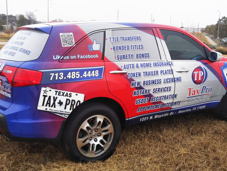 Full Color Commercial Vehicle Wrap