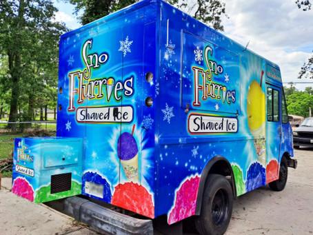 Snow Cone Truck Wrap